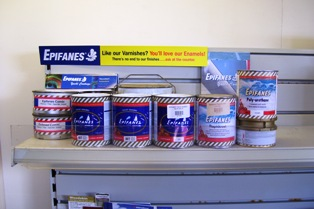 Epifanes paints & varnishes