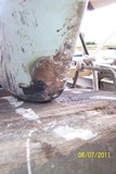 keel damaged heel